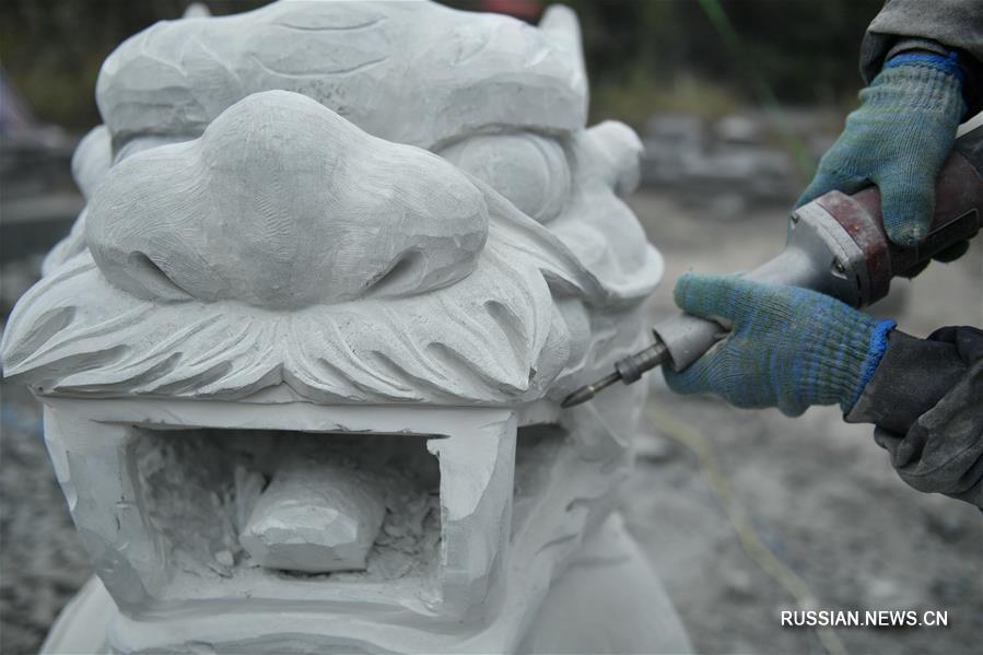 Искусство туцзяских резчиков по камню