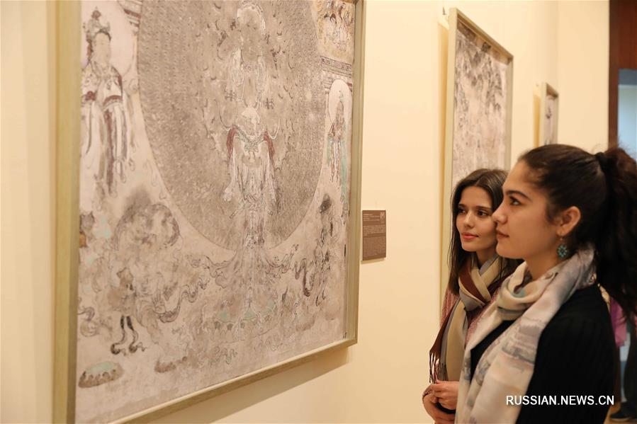 """В Ташкенте открылась совместная выставка Китая, Узбекистана и Германии """"Искусство на новом Шелковом пути"""""""