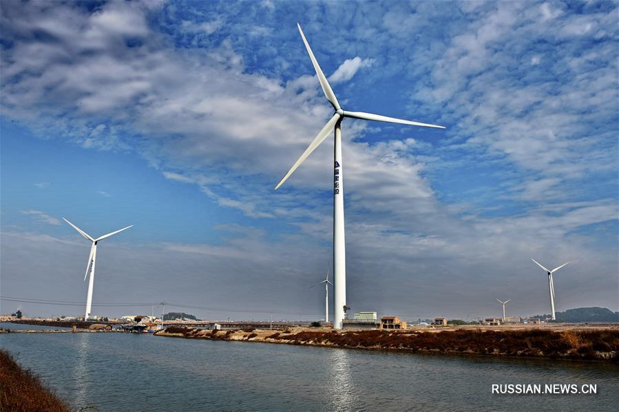 Развитие ветроэнергетики в провинции Фуцзянь
