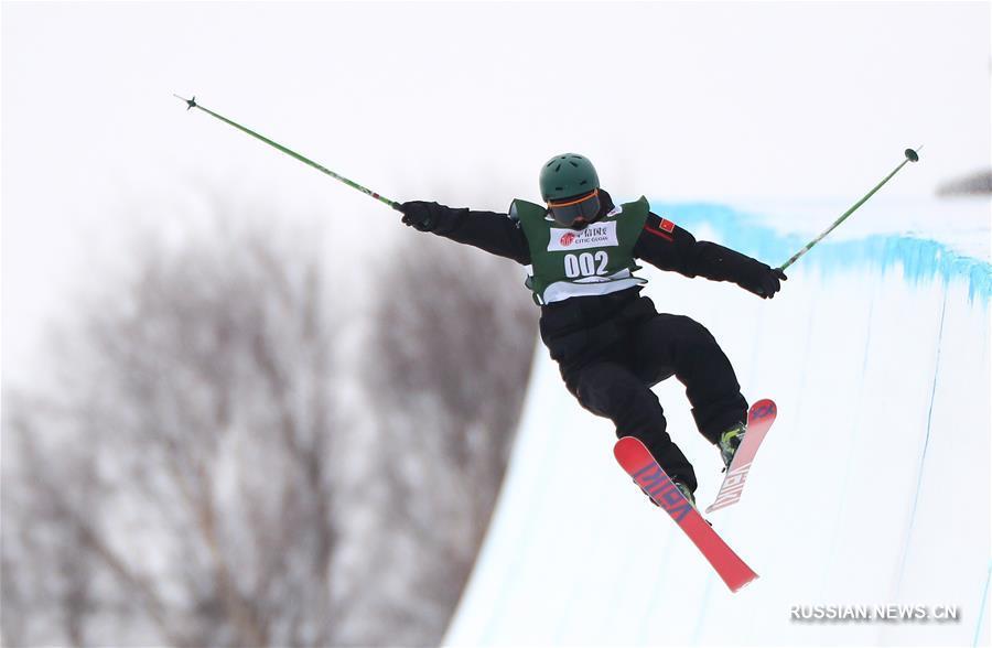 Горнолыжный спорт -- Кубок мира по фристайлу: Чжан Кэсинь стала победительницей среди женщин в дисциплине хафпайп