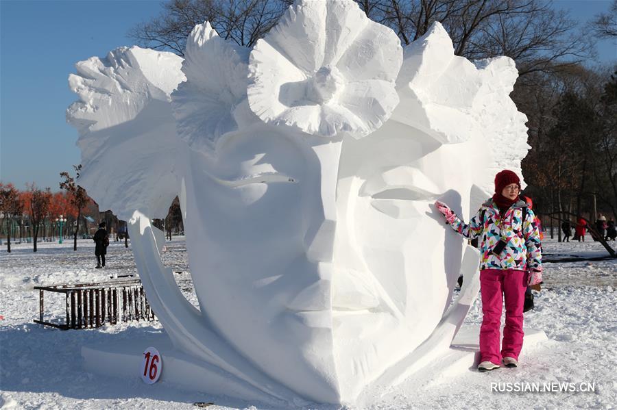 В Харбине закрылся 25-й Всекитайский конкурс снежных скульптур