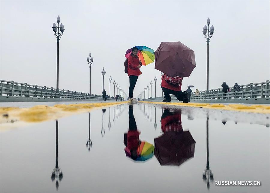 Большой мост через Янцзы в Нанкине открылся после реконструкции