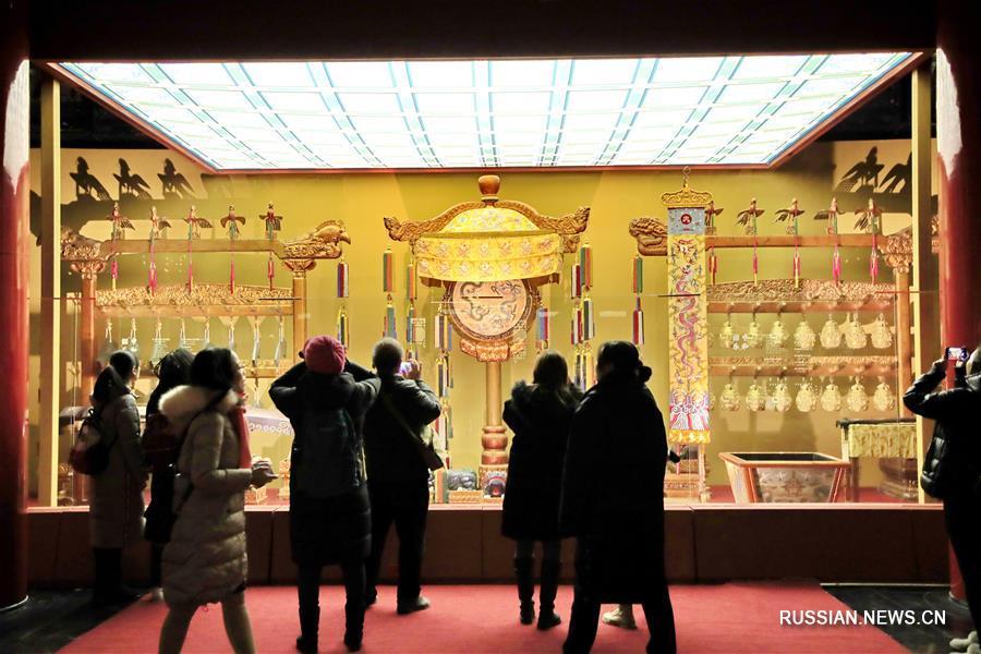 """В музее Гугун открылась выставка """"Новый год в Запретном городе"""""""