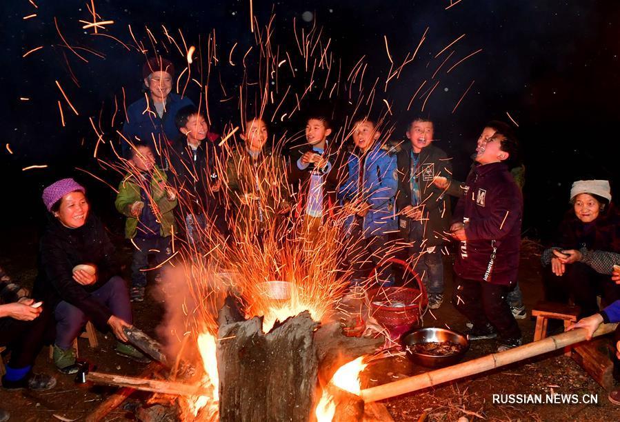 Мяоский Новый год в деревне Яогао