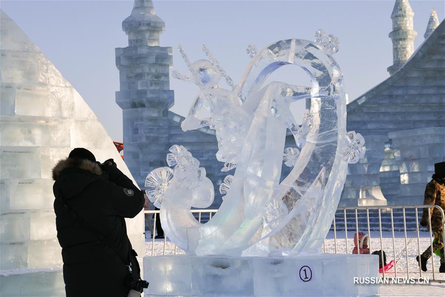 В Харбине закрылся Международный фестиваль ледяных скульптур