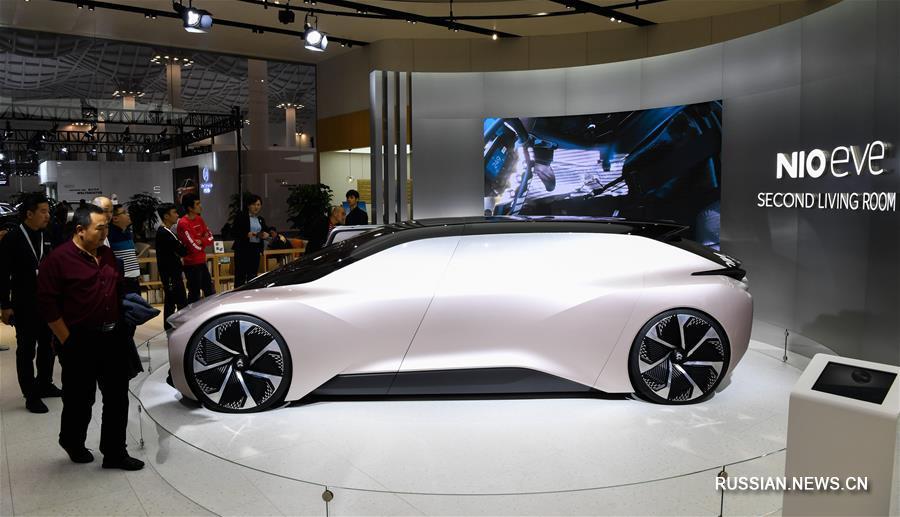 Хайкоуская международная выставка автомобилей на альтернативных источниках энергии -- 2019 открылась на Хайнане