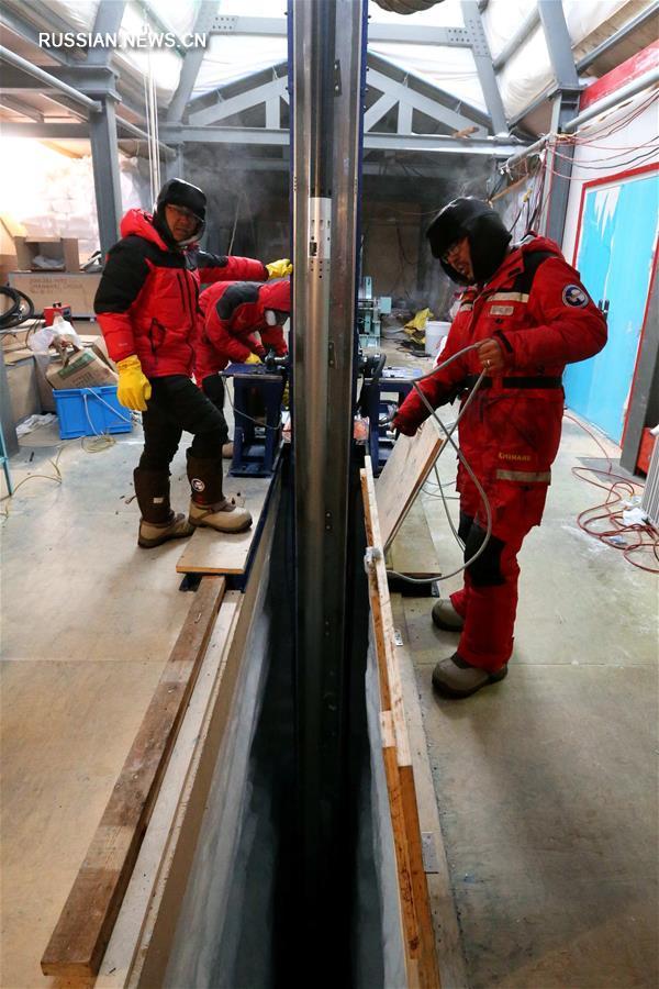 Секреты буровой разведки антарктического льда