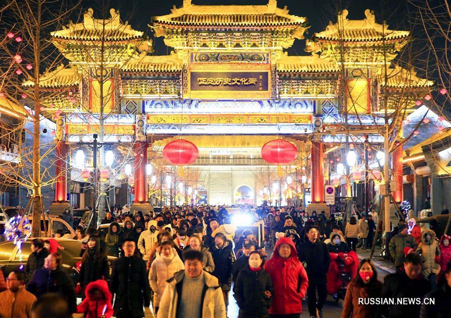 Старинный город в провинции Хэбэй притягивает туристов