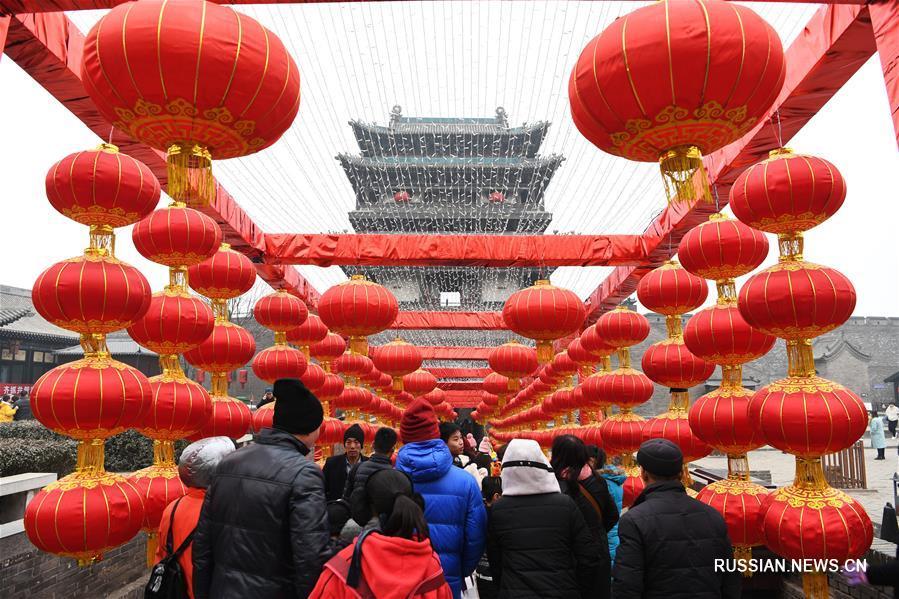 Китайский Новый год в древнем городе Пинъяо