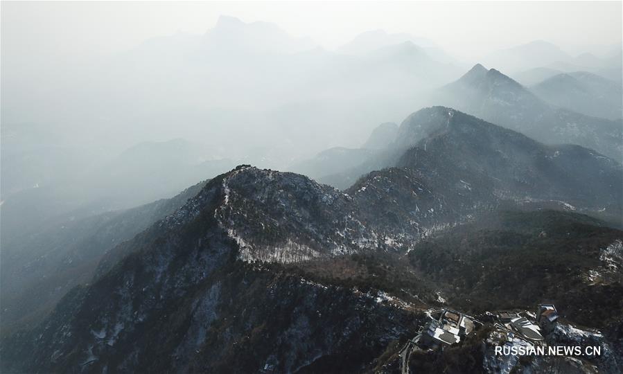 Снежные пейзажи Китая