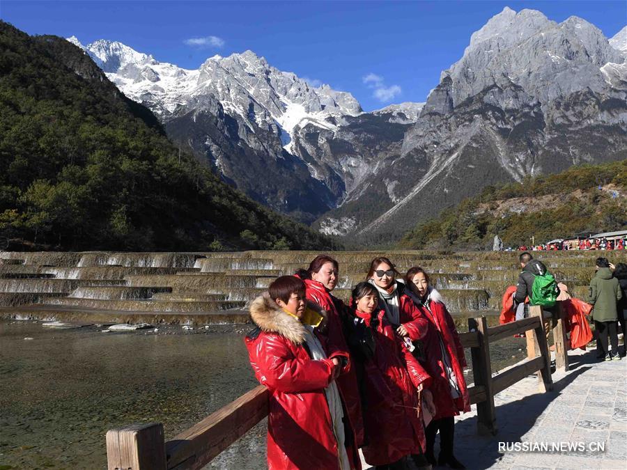 Величественные горные пейзажи в провинции Юньнань