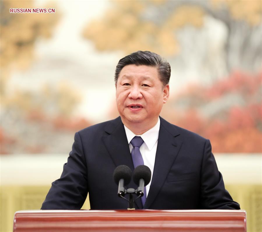 """Си Цзиньпин и другие китайские руководители встретились со специалистами, участвовашими в разработке и испытаниях лунного зонда """"Чанъэ-4"""""""