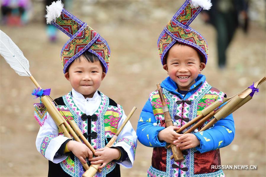Национальный праздник Похуэй в мяоских горах