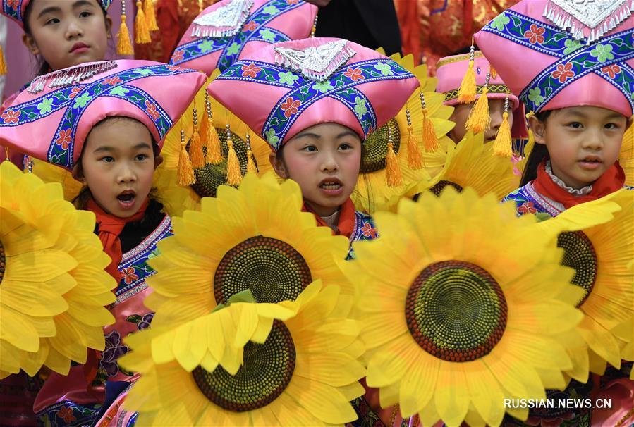 Начало учебы в школах Гуанси