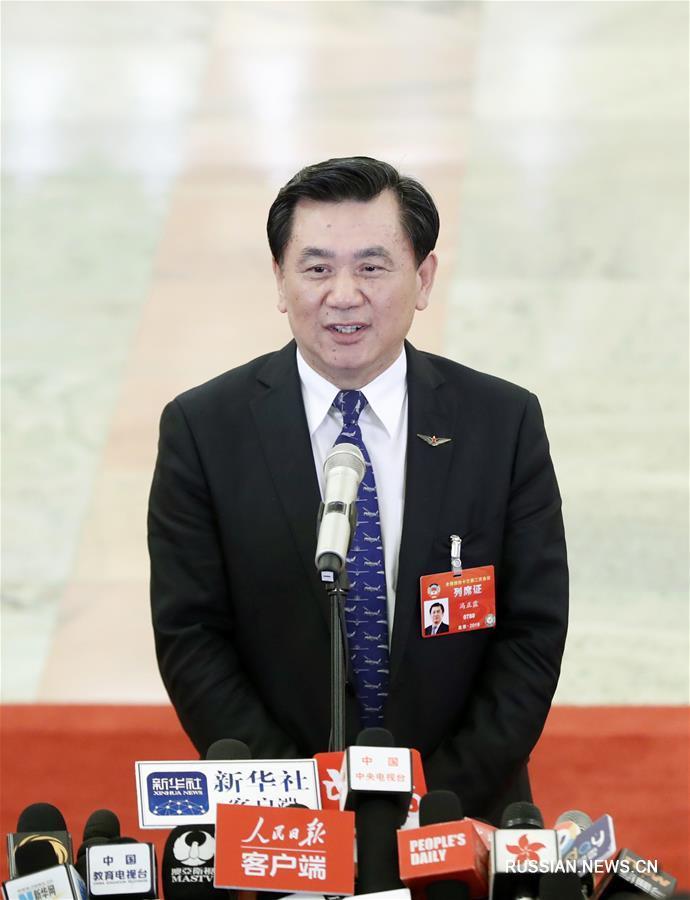 Китайские министры дали интервью журналистам в рамках ежегодной сессии ВК НПКСК