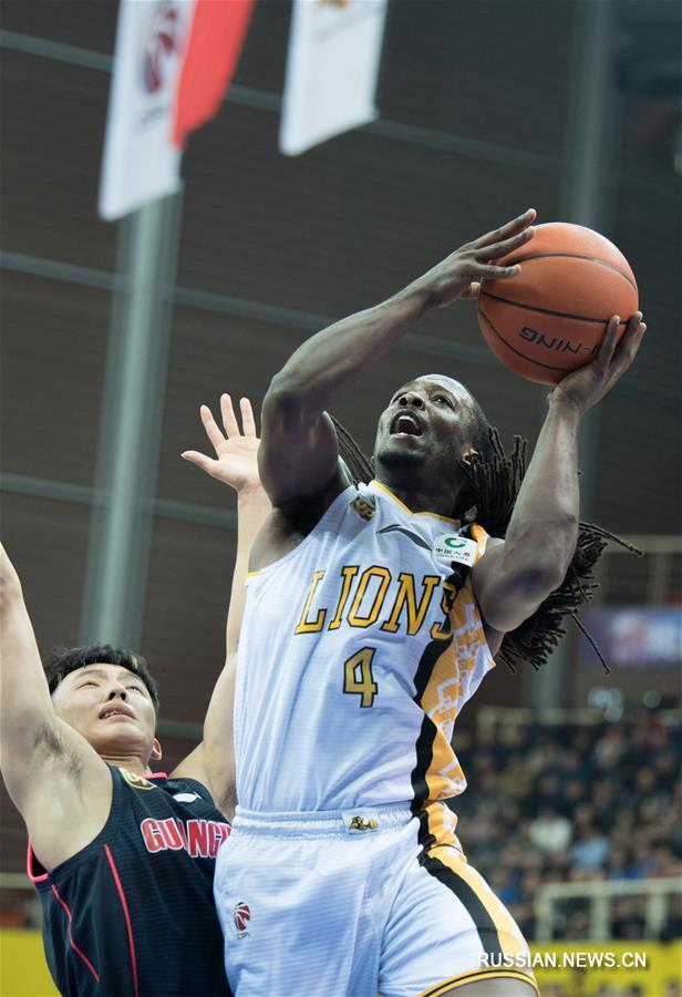 """Баскетбол -- CBA-2018/2019: """"Гуандун Дунгуань Иньхан"""" выиграл у """"Чжэцзян Гуанша Кунгу"""""""