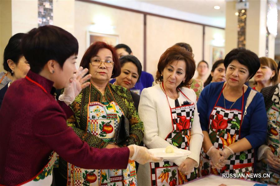 Прием по случаю Международного женского дня в посольстве КНР в Узбекистане