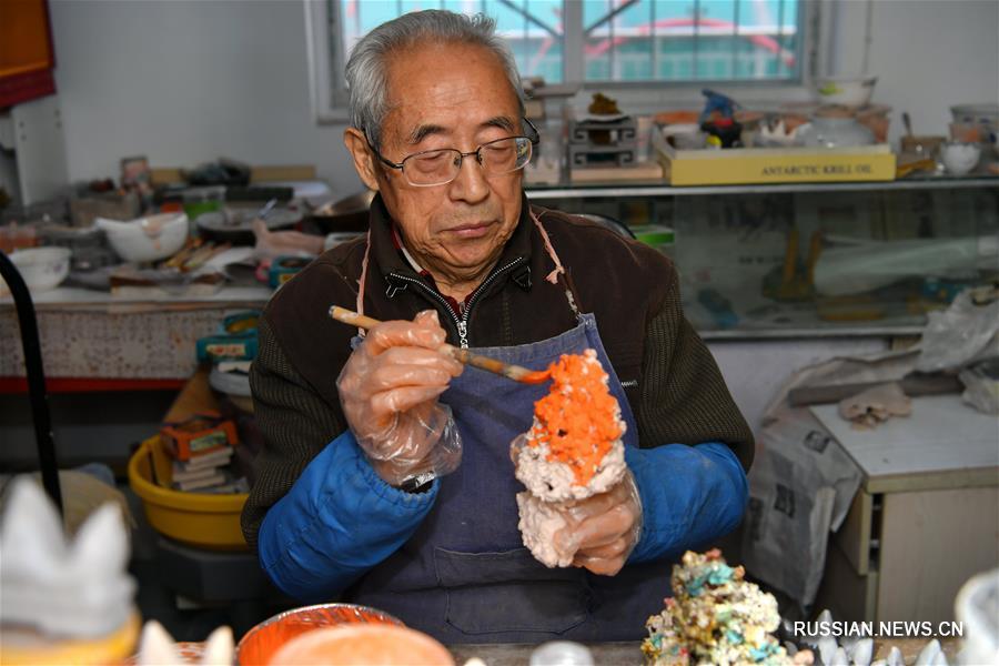 Потомственный мастер цветной глазури из Тайюаня