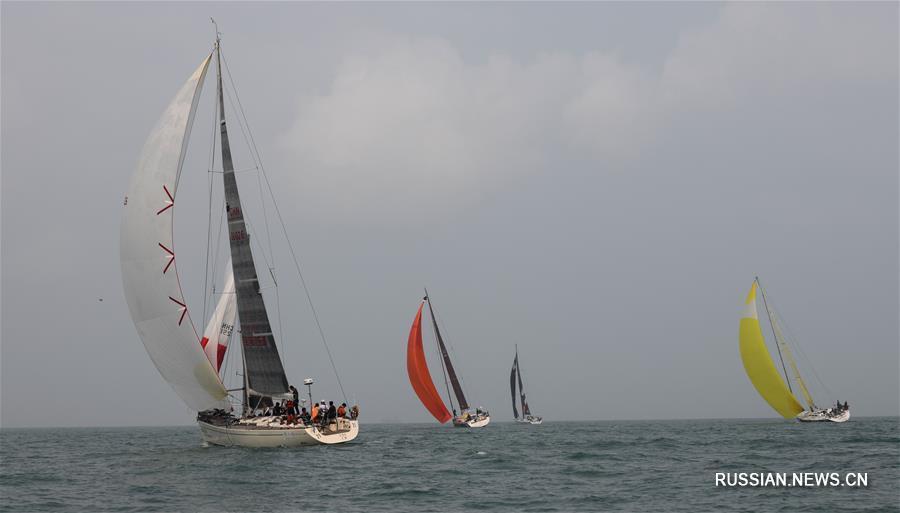 Парусный спорт -- Международная парусная регата вокруг острова Хайнань 2019: обзор этапа Хайкоу -- Санья