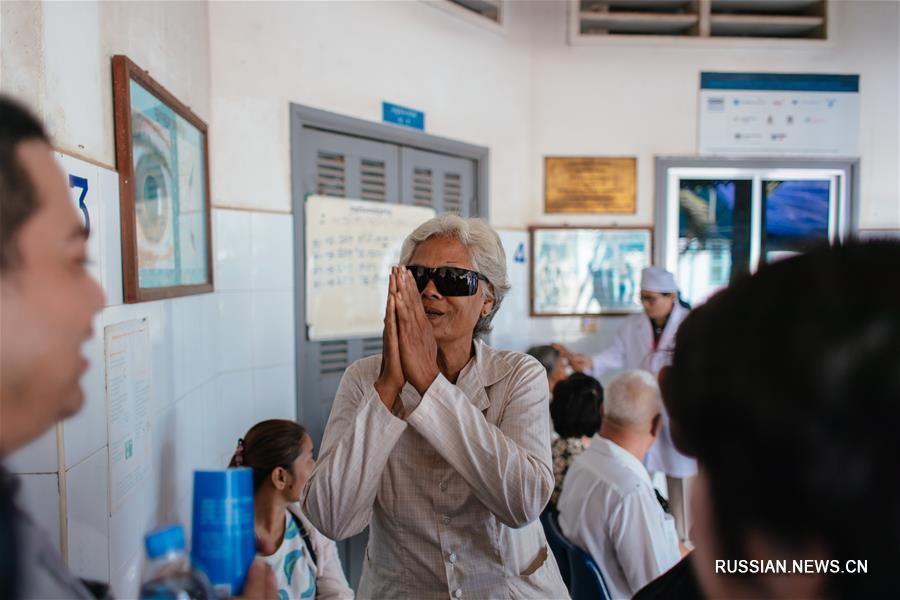 Китайские медики работают в камбоджийской глубинке