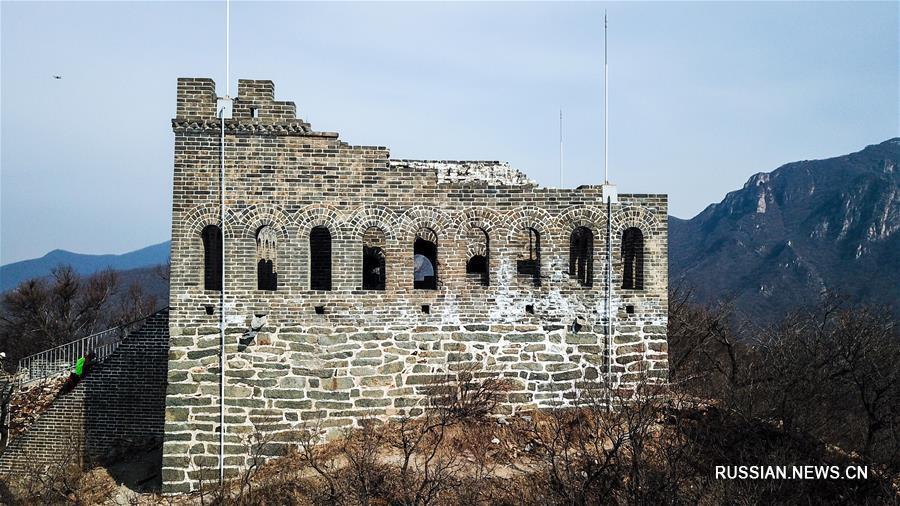 Башня Цзюяньлоу -- жемчужина Великой Китайской стены