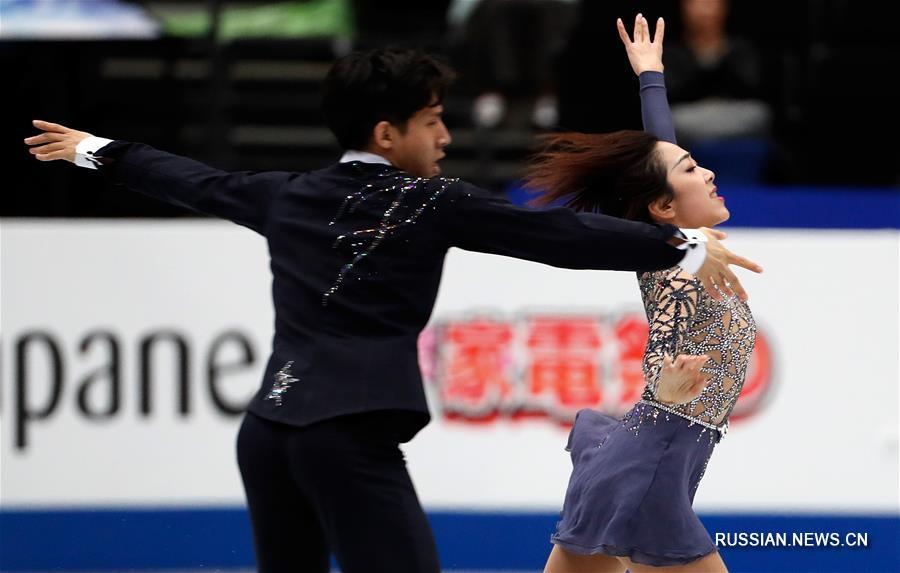Фигурное катание -- ЧМ-2019: китайская пара Суй Вэньцзин/Хань Цун идет второй после короткой программы
