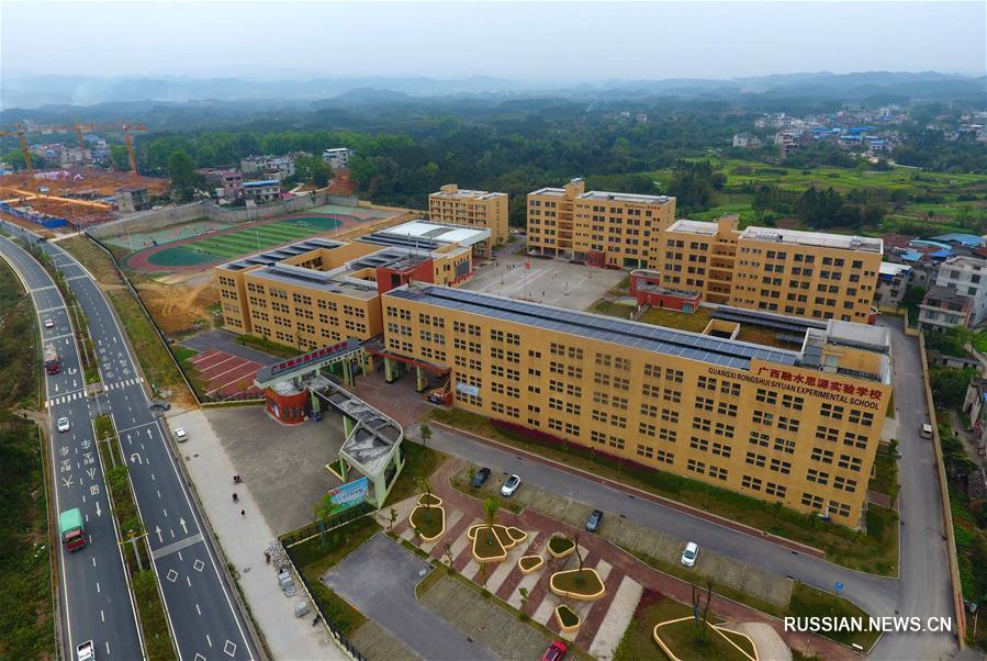 Успехи женского образования в горном уезде Жуншуй