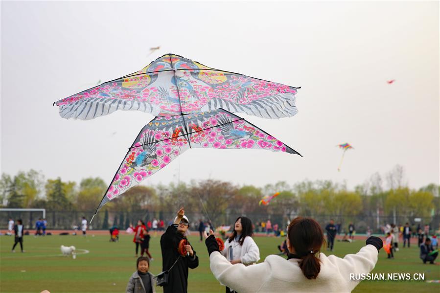 Весна -- пора воздушных змеев