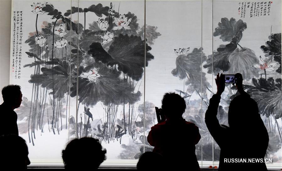 В Тайбэе проходит выставка, посвященная 120-летию со дня рождения художника Чжан Дацяня