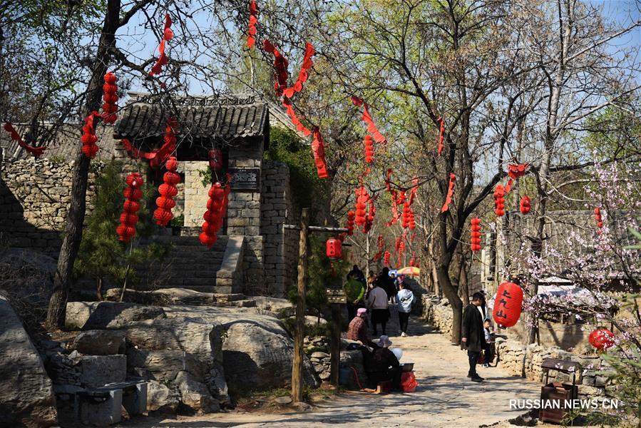 Каменная деревня в провинции Шаньдун -- символ тысячелетней истории