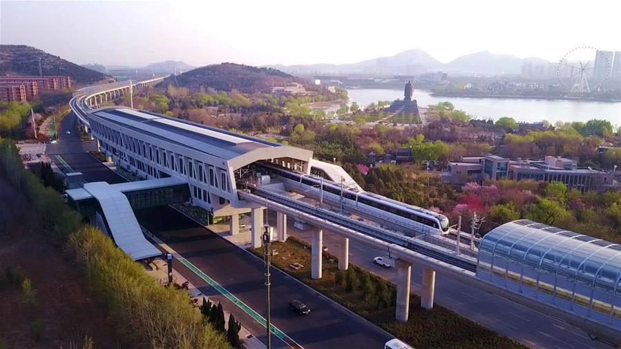 В Цзинане открыли первую линию метро