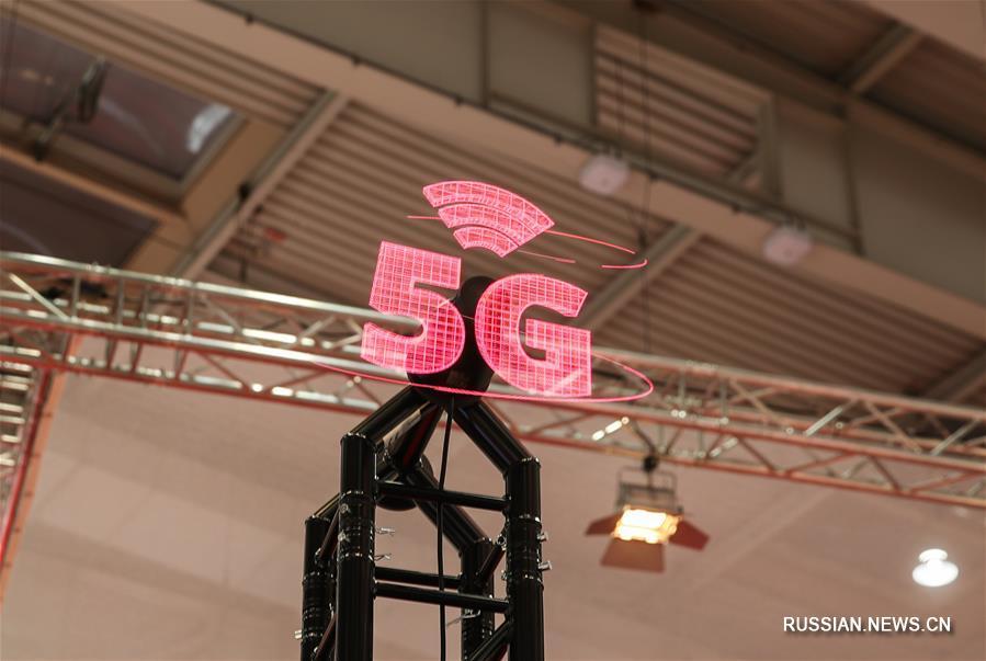 Технологии 5G представлены на Ганноверской промышленной ярмарке-2019