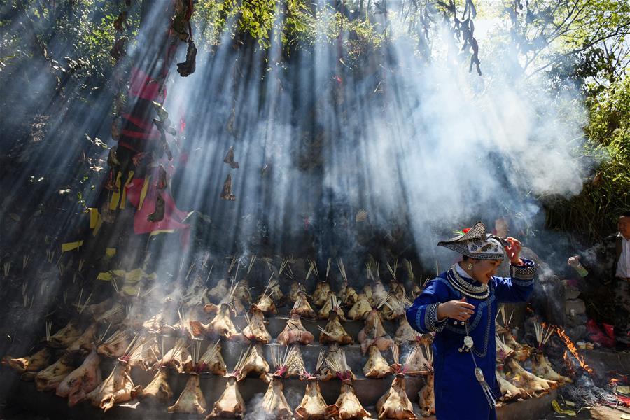 Мяоский культурно-фольклорный фестиваль в честь праздника Саньюэсань