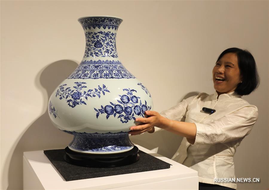 Китайское искусство будет представлено на аукционе Christie's