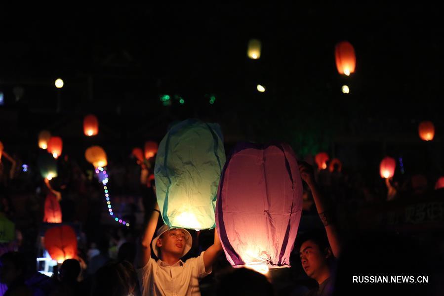 Фестиваль обливания водой на юго-западе Китая