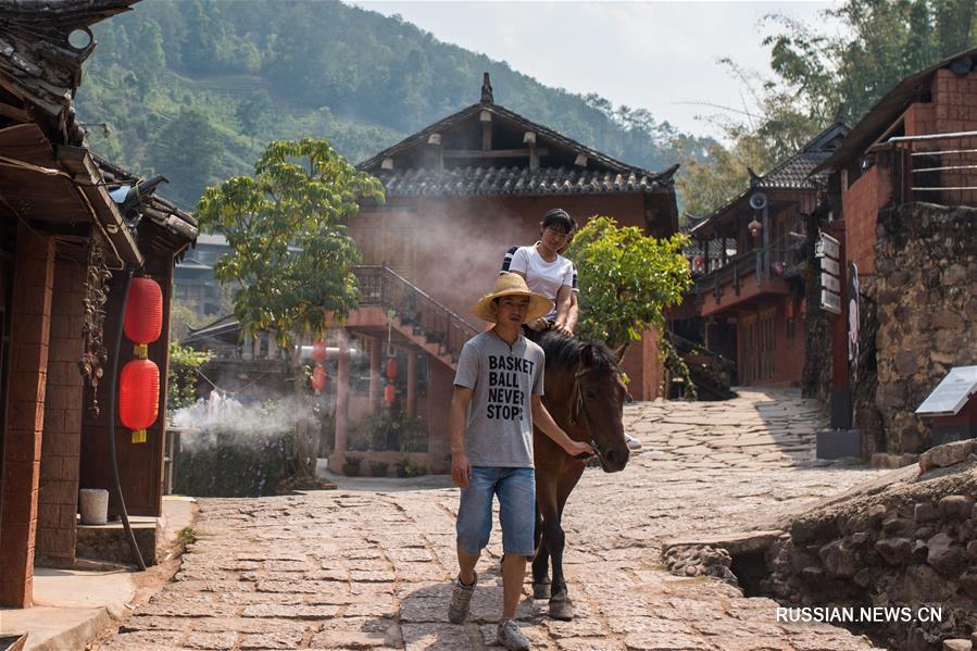 Городок на древнем чайном пути -- Накэли
