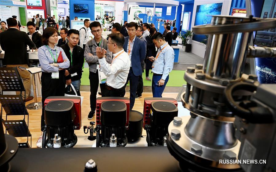 В Шанхае открылась Китайская ярмарка охраны окружающей среды