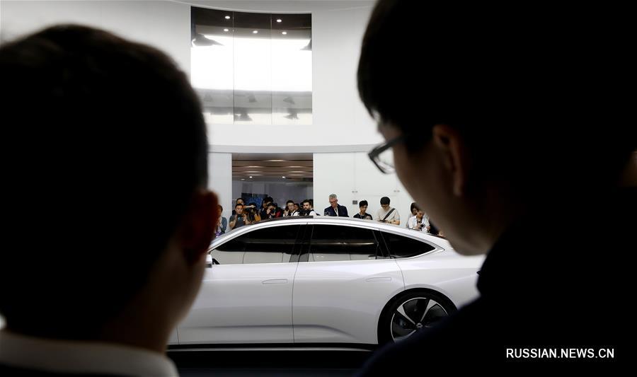На Шанхайском автосалоне 2019 представлены новые модели автомобилей на альтернативных источниках энергии