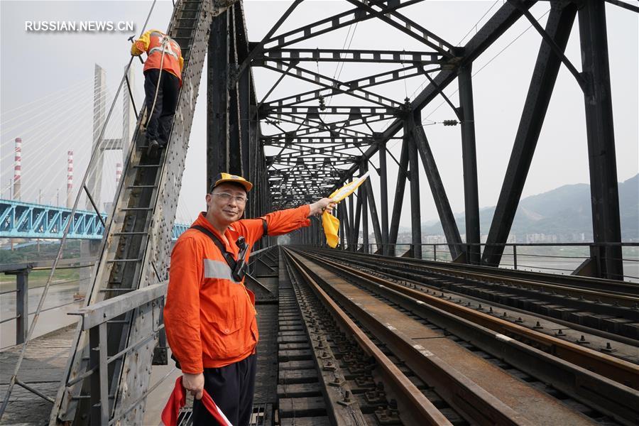 Новый железнодорожный мост Байшато скоро введут в эксплуатацию в Чунцине