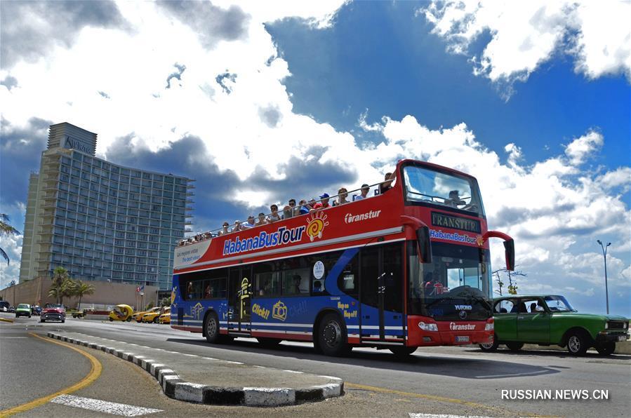Китайские автобусы на службе общественного транспорта в кубинских городах