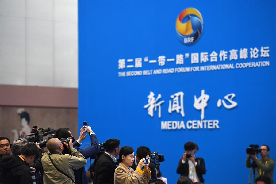 """2-й Форум высокого уровня по международному сотрудничеству в рамках """"Пояса и пути"""" открылся в Пекине"""