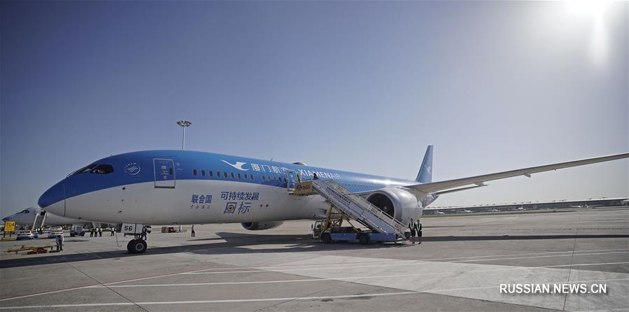 В Пекине с использованием авиатехники первично протестирован новый международный аэропорт Дасин