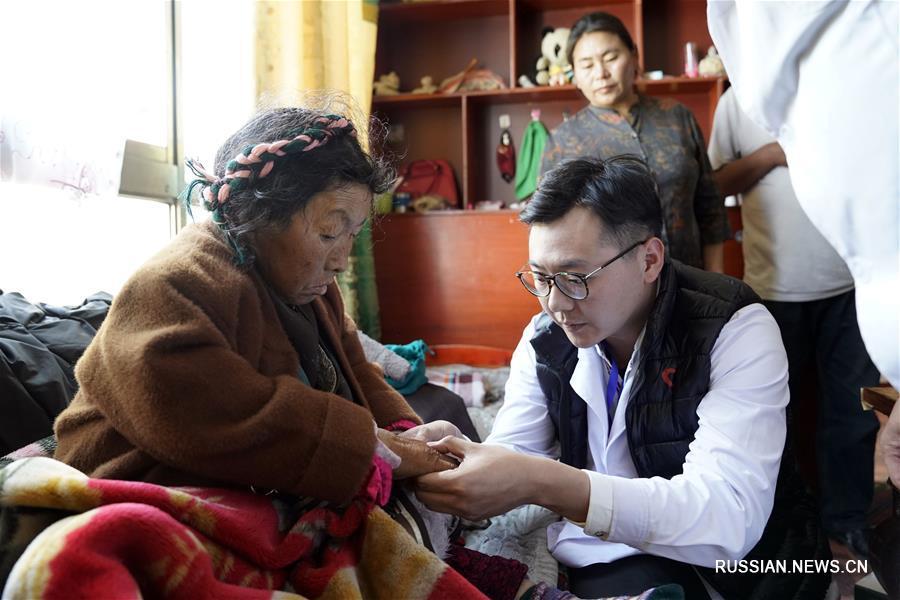 """Благотворительная медицинская акция """"Общее сердце"""" на Тибете"""