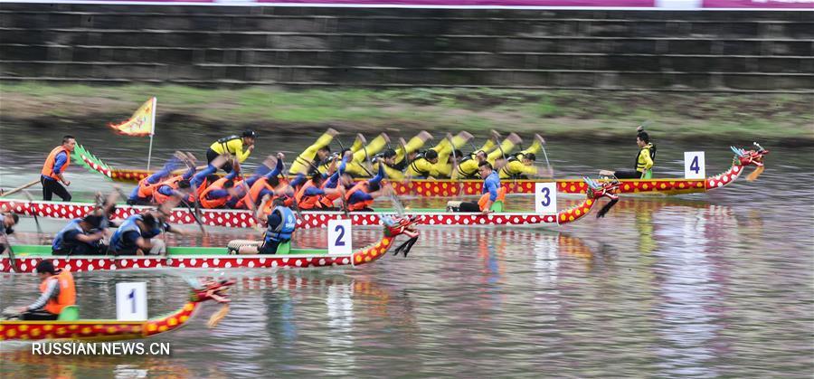 В Китае пышно отмечают наступающий праздник Дуаньу