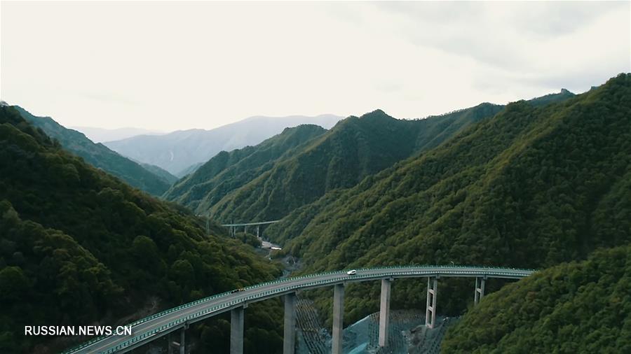 В провинции Цинхай открыто автотранспортное сообщение между Чжалунгоу и Няньбо