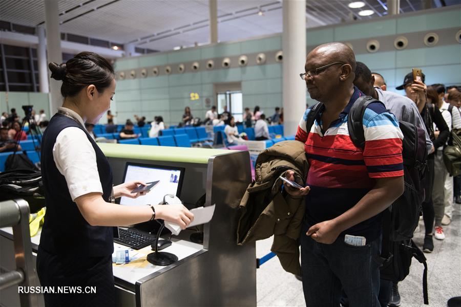 Провинцию Хунань и Африку связал прямой авиарейс