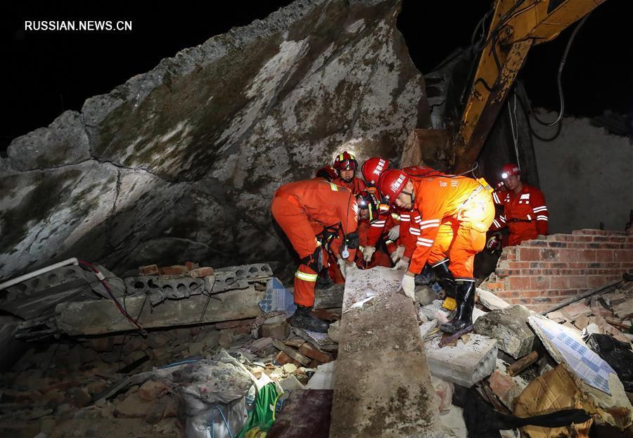 12 человек погибли и 125 получили ранения в результате землетрясения на юго-западе Китая