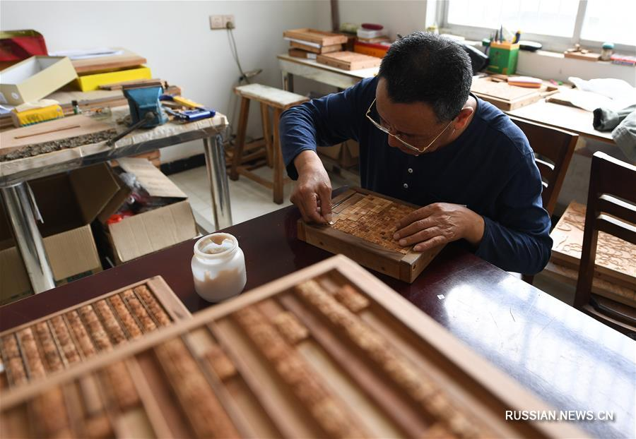 Потомственный мастер ксилографической печати из Янчжоу