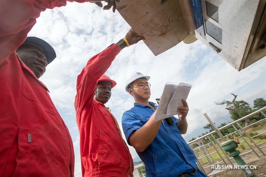 Санитарная ситуация в столице Экваториальной Гвинеии улучшается силами китайских строителей