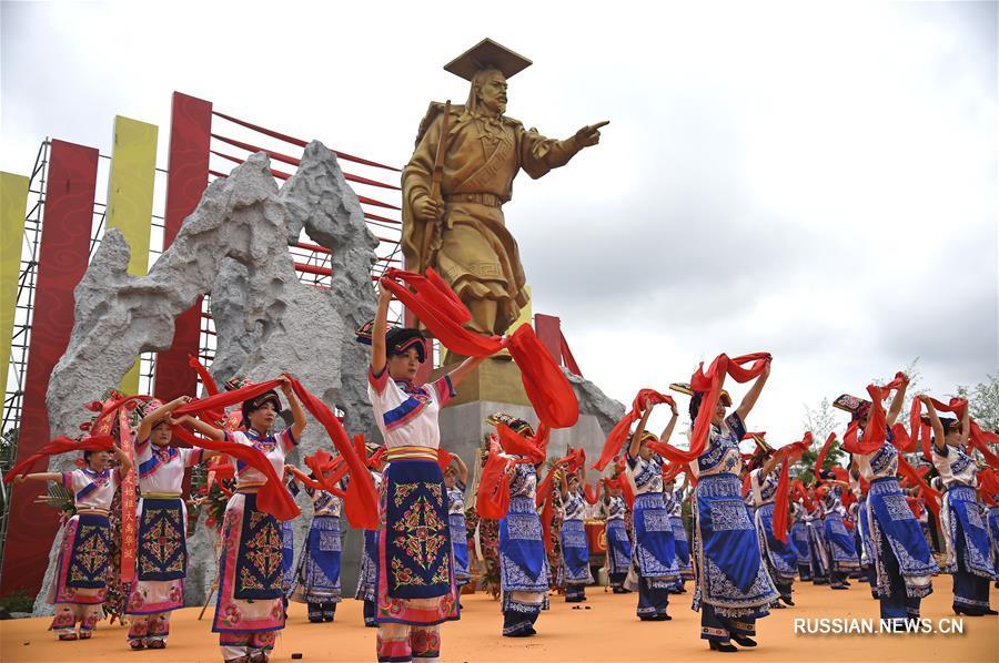 Праздник поклонения духу Да Юя прошел в провинции Сычуань